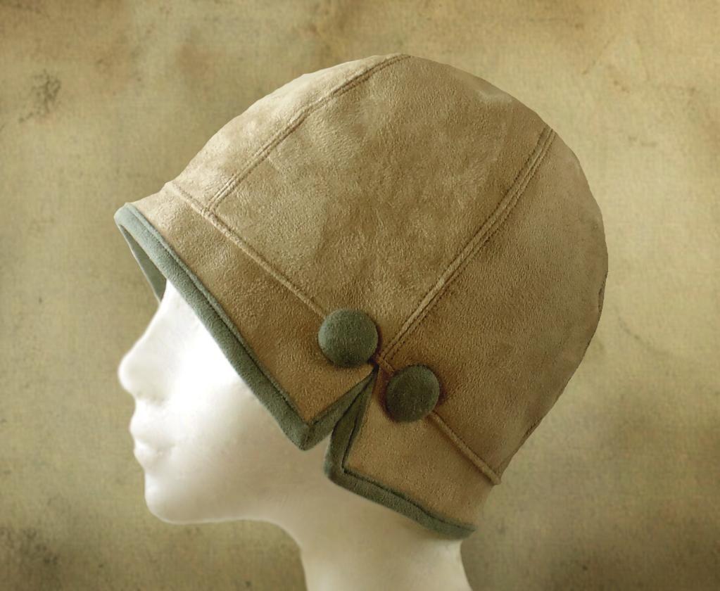 Lois - 1920\'s Cloche | Hüte, Mütze und Nähen