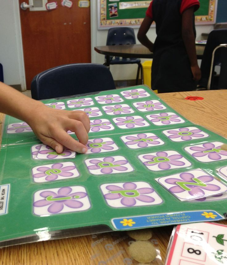 Autism Matching File Folder Games: Flower Letters, Numbers ...
