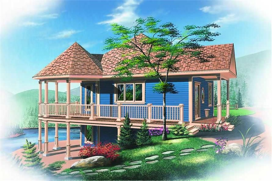 Beachfront, Vacation Homes, Victorian House Plans