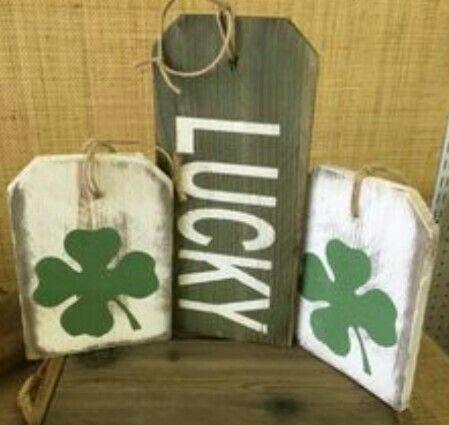 Saint Patricks Day Signs St Patricks Day Decorations St