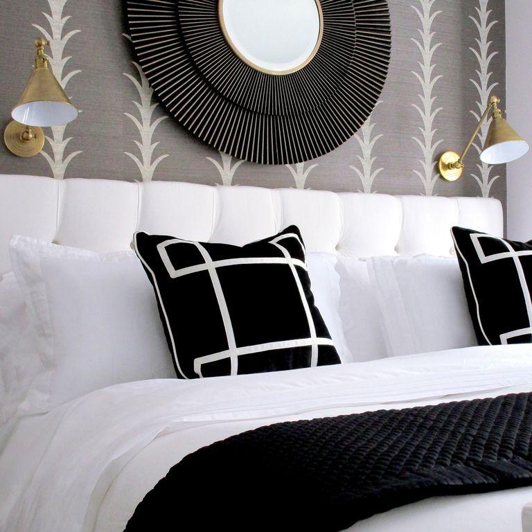 Photo of 36 camere da letto in bianco e nero che sono il picco dell'eleganza