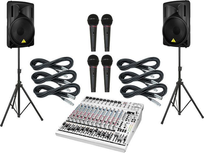 Special Offers Available Click Image Above: Behringer Ub2442fx / B215d Pa Package