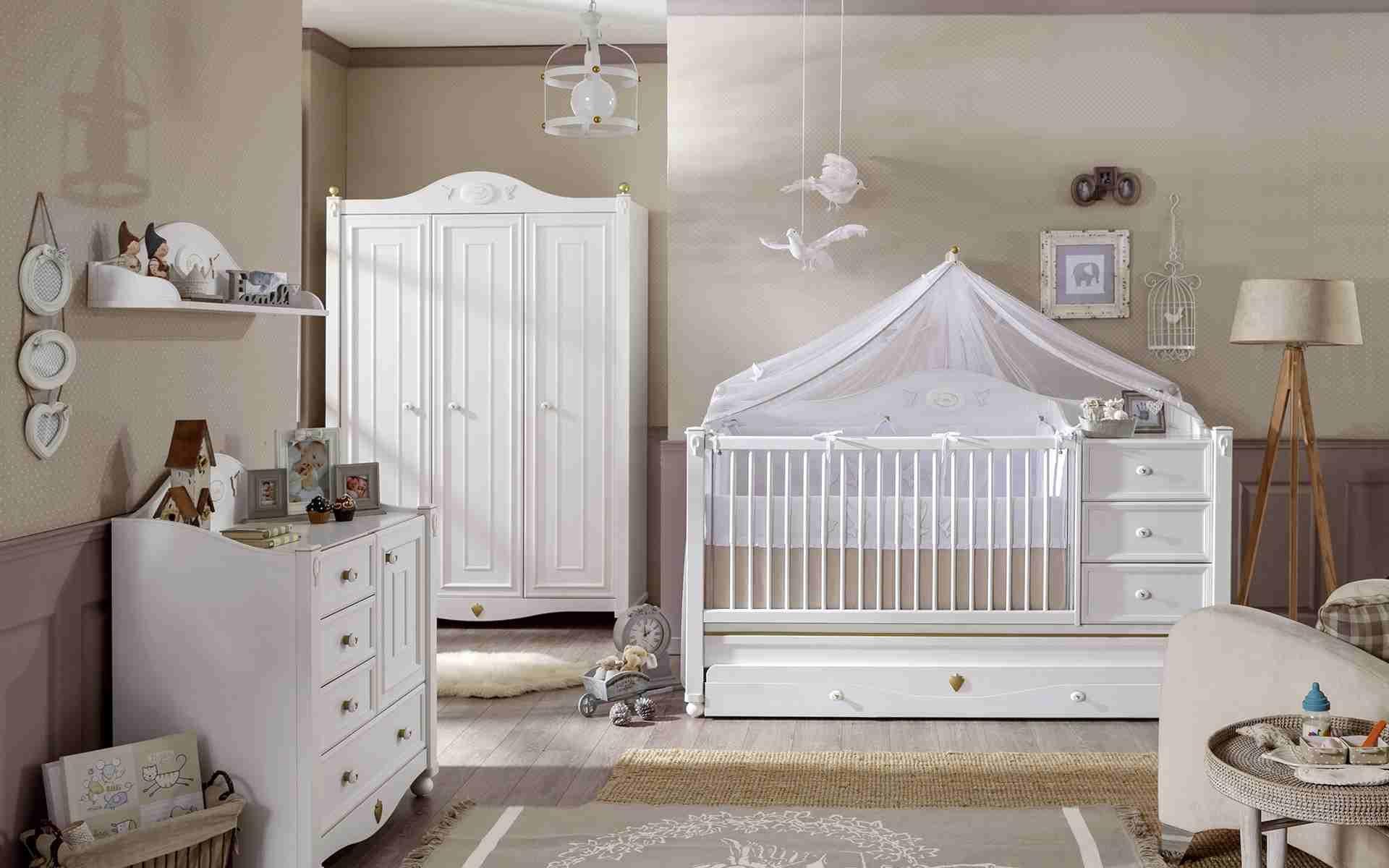 Décoration chambre bébé fille idée tapis sol | Deco chambre ...