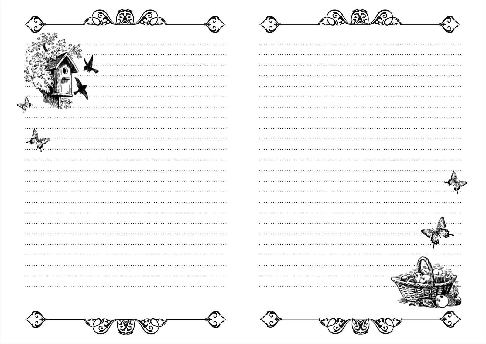 листы с картинками для блокнота скрапбукингом этого