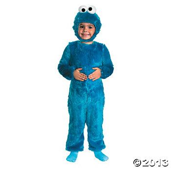 Kid S Sesame Street Cookie Monster Costume Cookie Monster Costume Monster Costumes Toddler Costumes