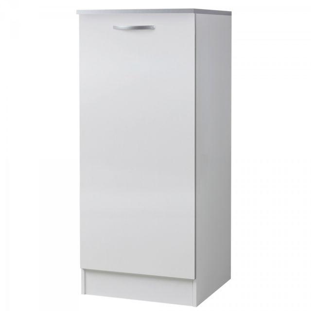 altobuy twist blanc  meuble colonne 60 cm  meuble