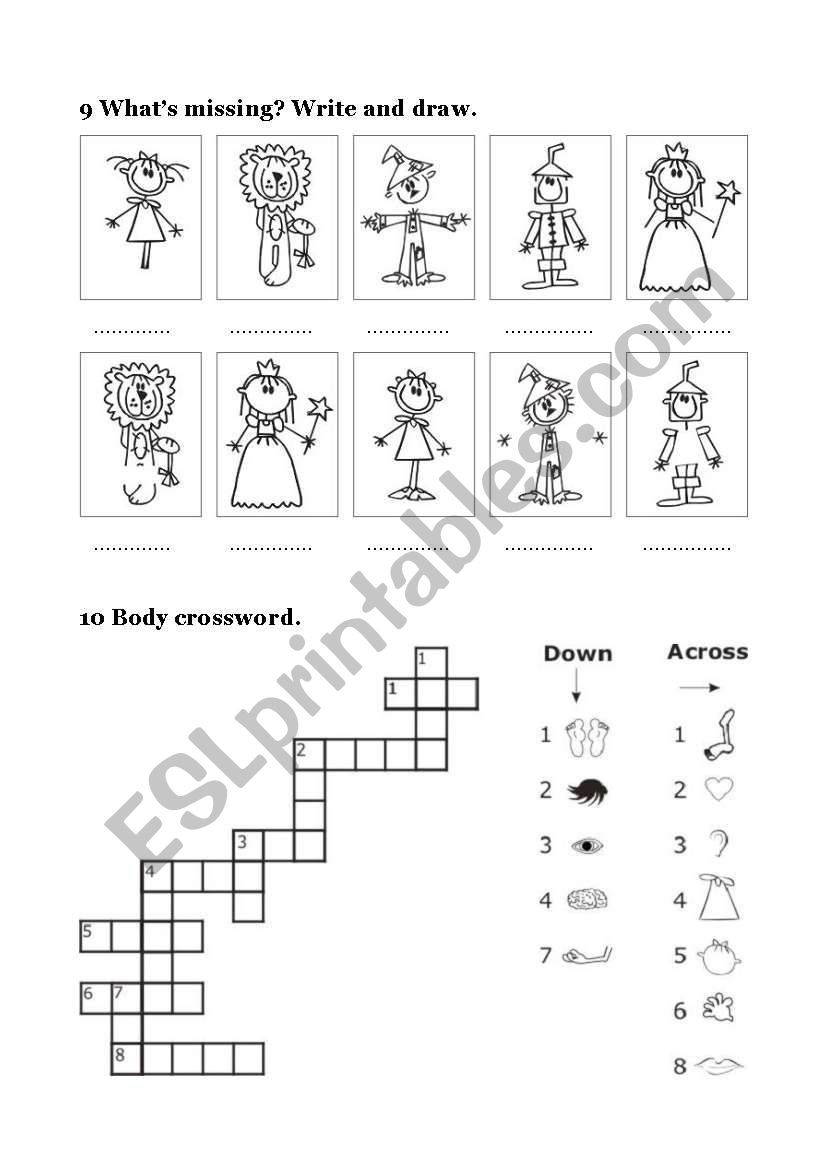 These Are The Last 6 Ws Of 12 With Vocabulary And Exercices About The Wizard Of Oz Good For Pupils 7 9 Wizard Of Oz 2 Kids Worksheets Printables Wizard Of Oz