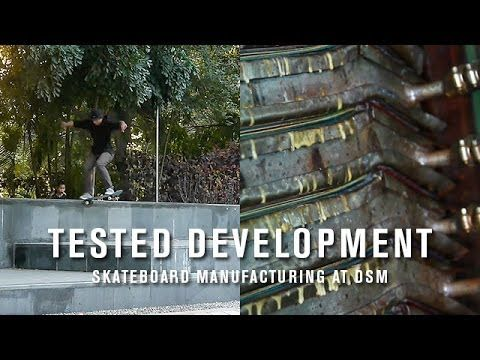 This is the video component to the Tested Development article featured in the November Product Issue in TransWorld SKATEboarding. Featuring skaters Andrew Brophy, PLG, Joey Brezinski, Chris Haslam and Zack Wallin and a brief cameo by me. This is what I do and this is the factory we make skateboards in.