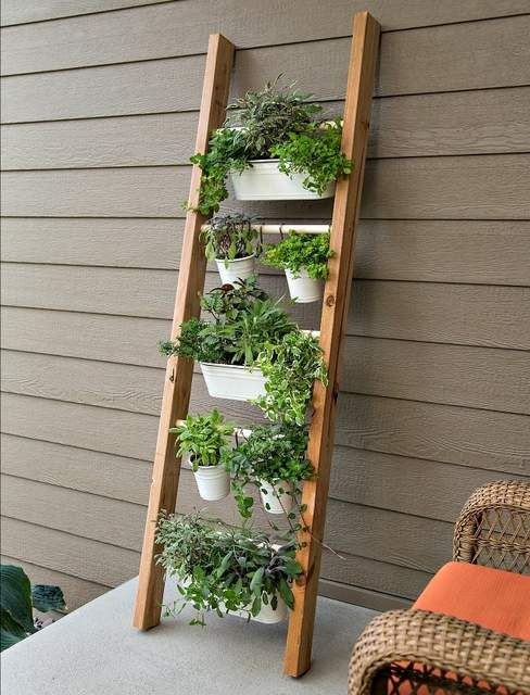 15 Fabulous Vertical Gardening Ideas & Designs - Get Busy Gardening