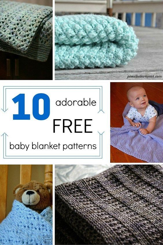 These easy knitting patterns make adorable baby shower gifts! | Chal