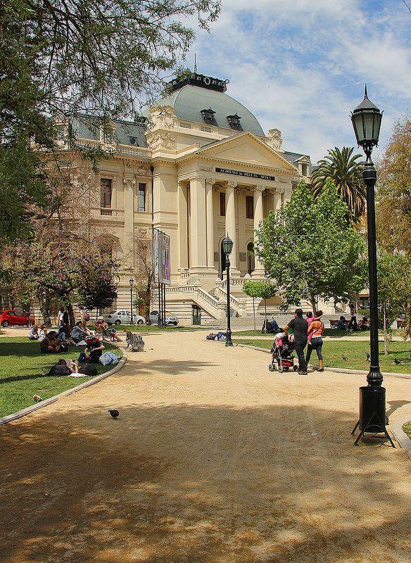 Museo Nacional De Bellas Artes Santiago Chile Chile And