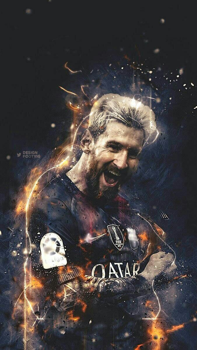 "the legend ""messi"" 