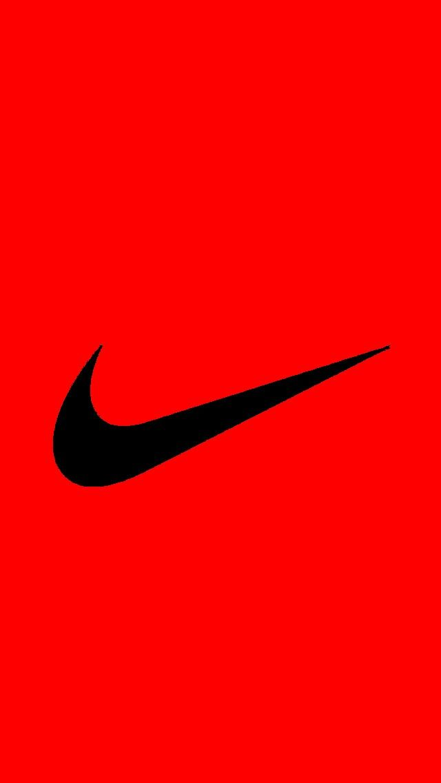 Nike red Black wallpaper cool