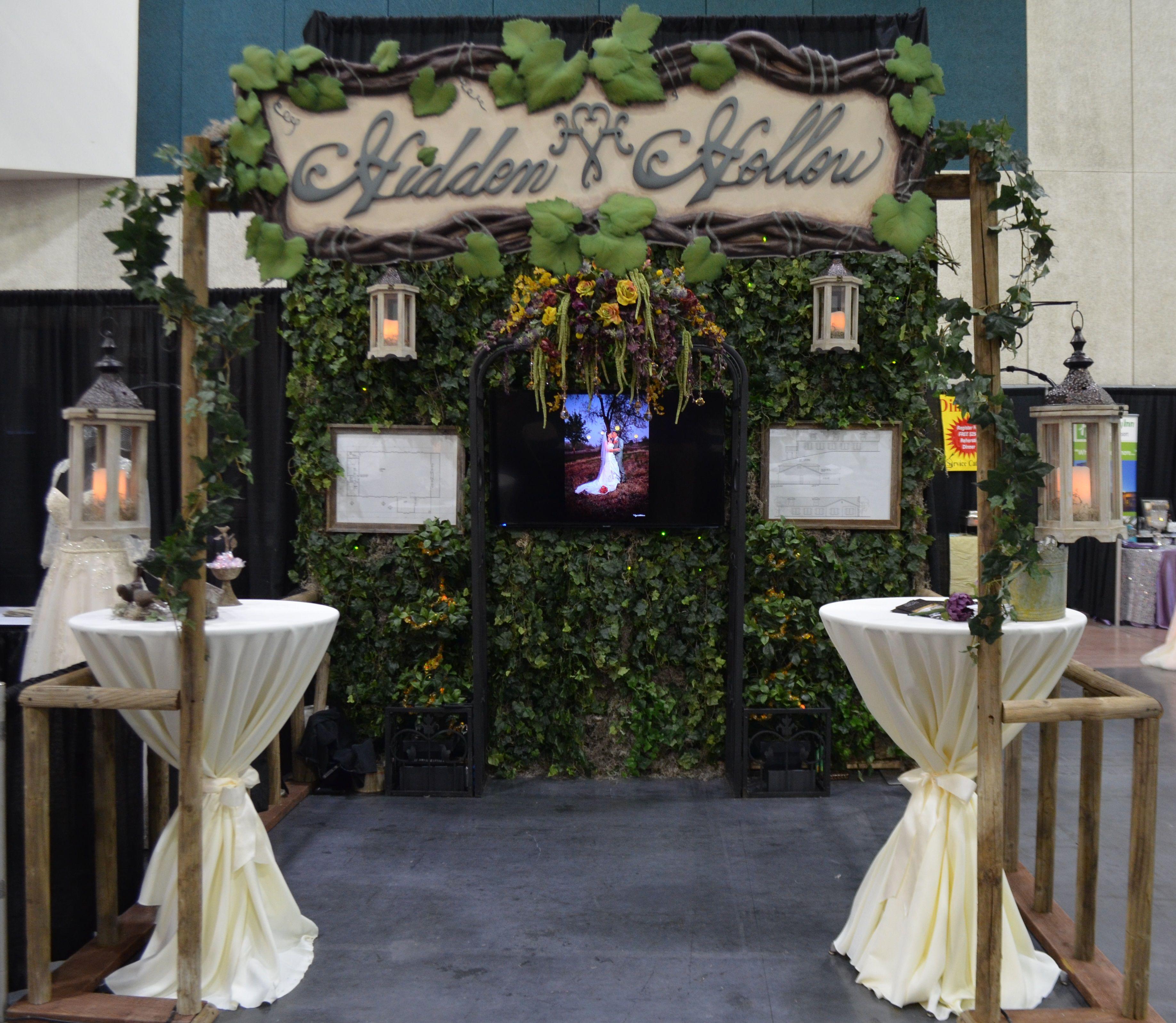 Hidden Hollow Bridal Show Booth Fresno