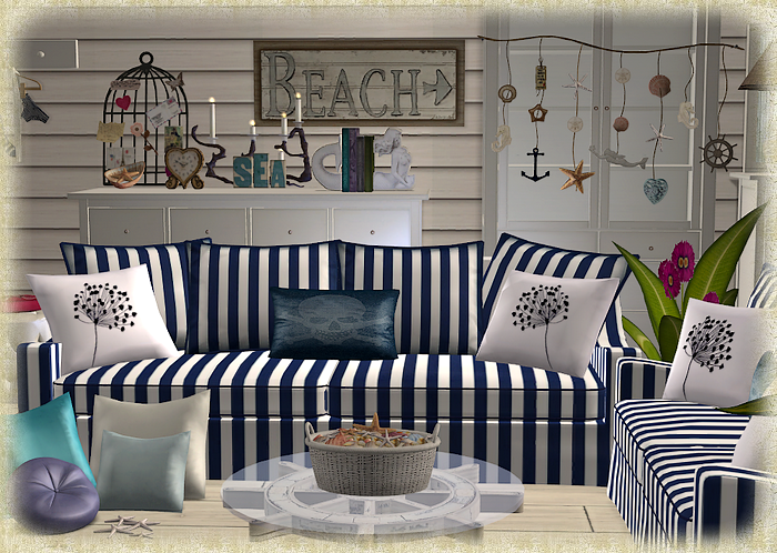 sims 2 - ♥ coastal accents ♥ - downloads - blackpearlsims why, Badezimmer ideen
