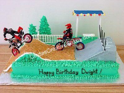 Dirt bike birthday cake Yum yum yummy Pinterest Dirt bike
