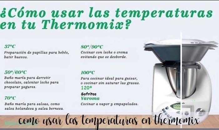 Uso Correcto De Las Temperaturas De La Thermomix Es Muy Normal