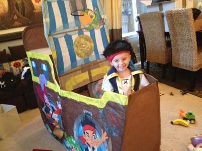 Playhut Bucky the Pirate Ship Play Tent: Pretend Play, Arts & Crafts : Walmart.com