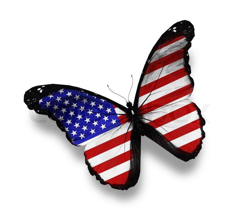 American Flag Butterfly Com Imagens Papel De Parede Para Telefone Tatoo Borboleta