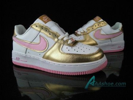 Nike womens Air Force One- pink and