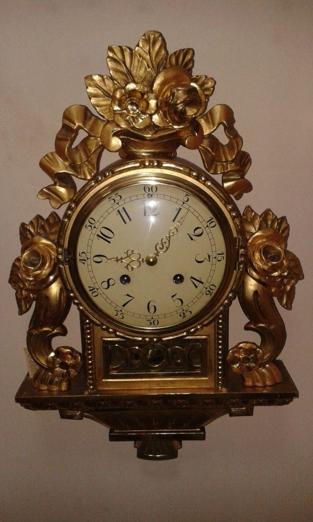 7f96d93265f6 Шведские настенные часы. Стокгольм   золото часы на стену