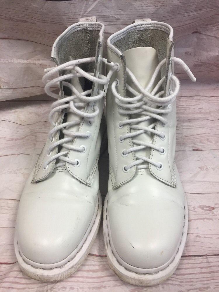 a3e40614790 Details about Men's Shoes Dr. Martens 1460 MONO 8 Eye Leather Boots ...