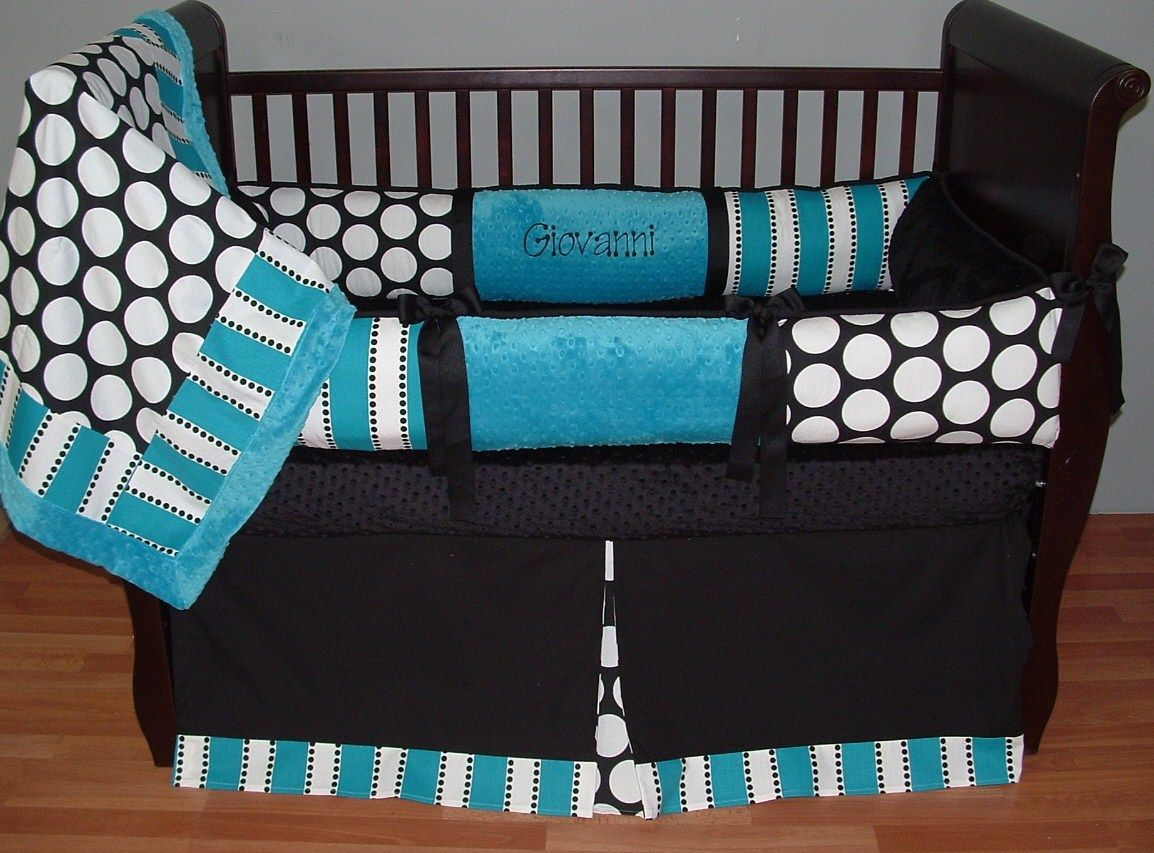 gio baby bedding this custom 3 pc baby crib bedding set includes a