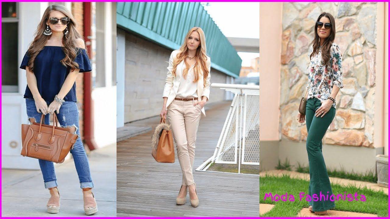 ea81aaffbd73 Ropa moderna para mujer 2018 I Combinaciones de ropa de moda - YouTube