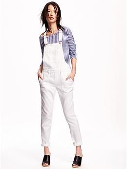 distinctive style highly coveted range of many fashionable White Denim Overalls for Women | Old Navy | Things to Wear ...
