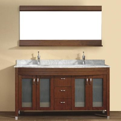 Bauhaus Bath Alfa 63 Double Bathroom Vanity Wayfair 3268 Practically Cus Unique Bathroom Vanity Bathroom Vanities Without Tops Double Sink Bathroom Vanity