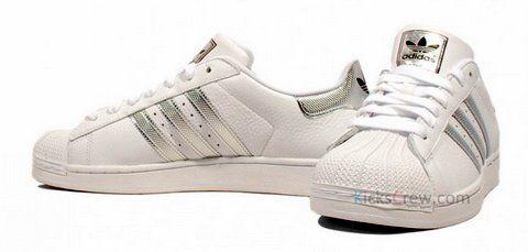 zapatillas adidas superstar plata