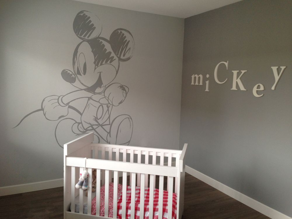 Mickey Mouse Baby Room Mickey Mouse Wall Painting On Part 74