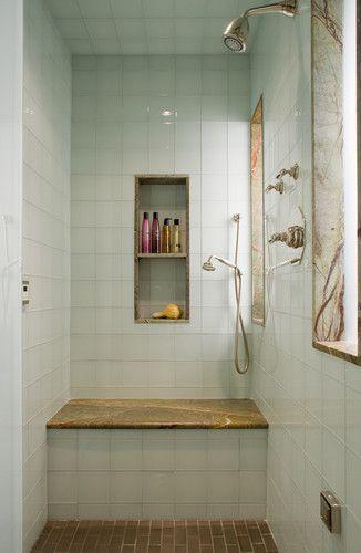 White shower- sexy.