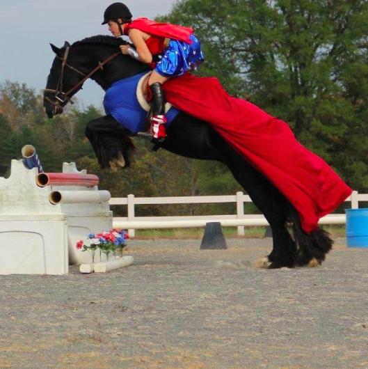 Super Woman horse!