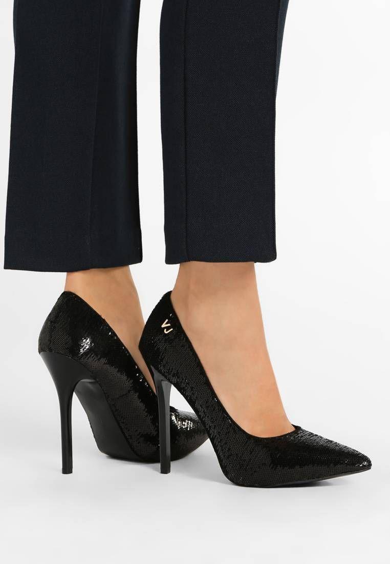 Versace Jeans. High heels - pailettes