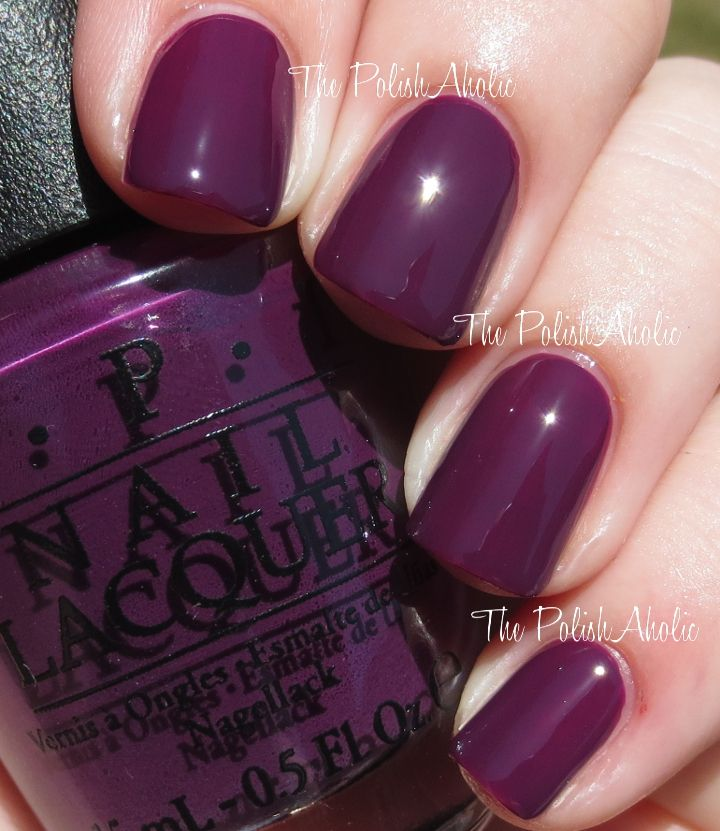 OPI Fall 2014 Nordic Collection Swatches Skating On Thin Ice-Land is ...