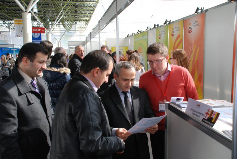 Opportunities To Study In Lithuania Were Presented In Tbilisi During The International Education And Career International Education Career Education Education
