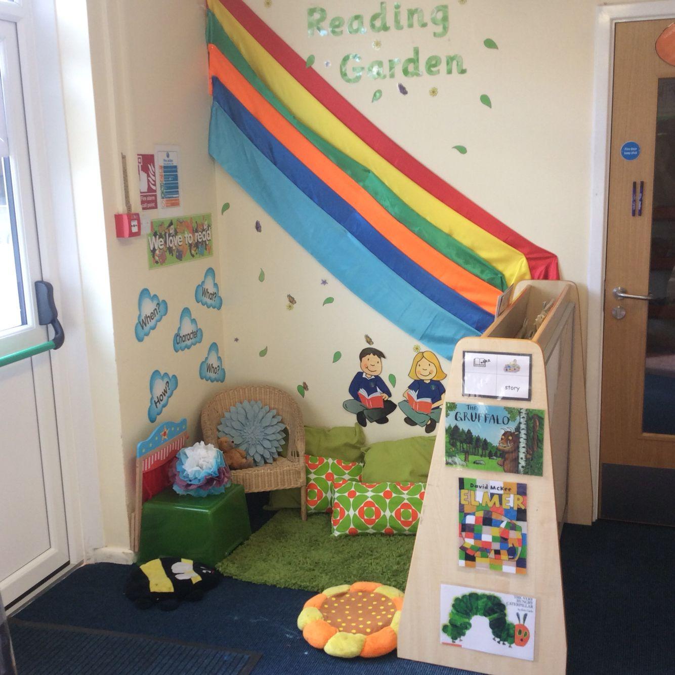 Classroom Ideas Eyfs ~ Reading garden eyfs work related activities pinterest