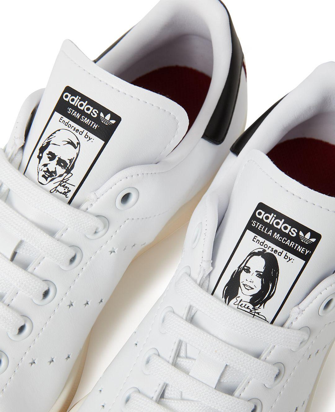 "Elevado Discriminatorio Amplia gama  adidas & @stellamccartney unveil the first-ever vegetarian Stan Smith.  The leather-free sneaker,…"" | Adidas stan smith, Stan smith shoes, Stan  smith"