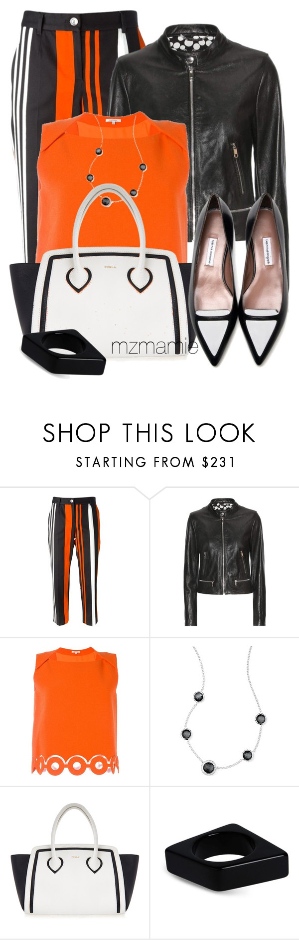 """Untitled #2797"" by mzmamie ❤ liked on Polyvore featuring Dolce&Gabbana, Carven, Ippolita, Furla and Marni"
