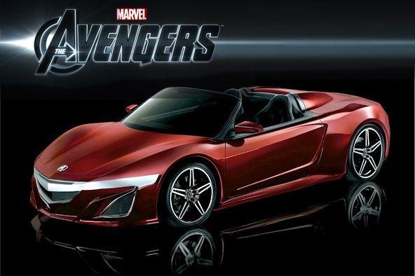 Merveilleux Acura Sports Car Avengers 1