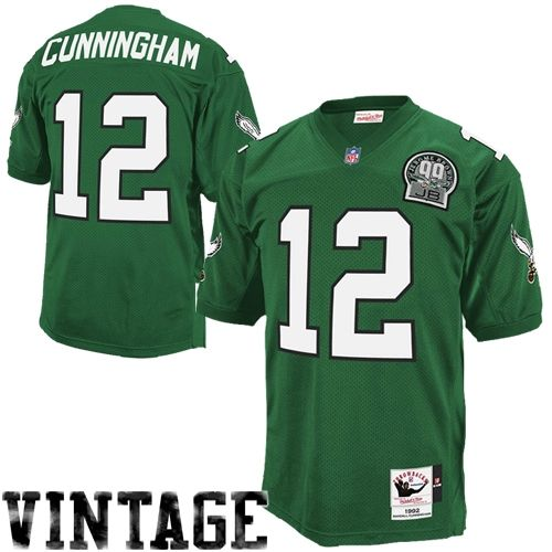 23424a76 Mitchell & Ness Randall Cunningham Philadelphia Eagles 1992 ...