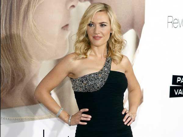 Kate Winslet con peinado para invitada de boda Peinados para las