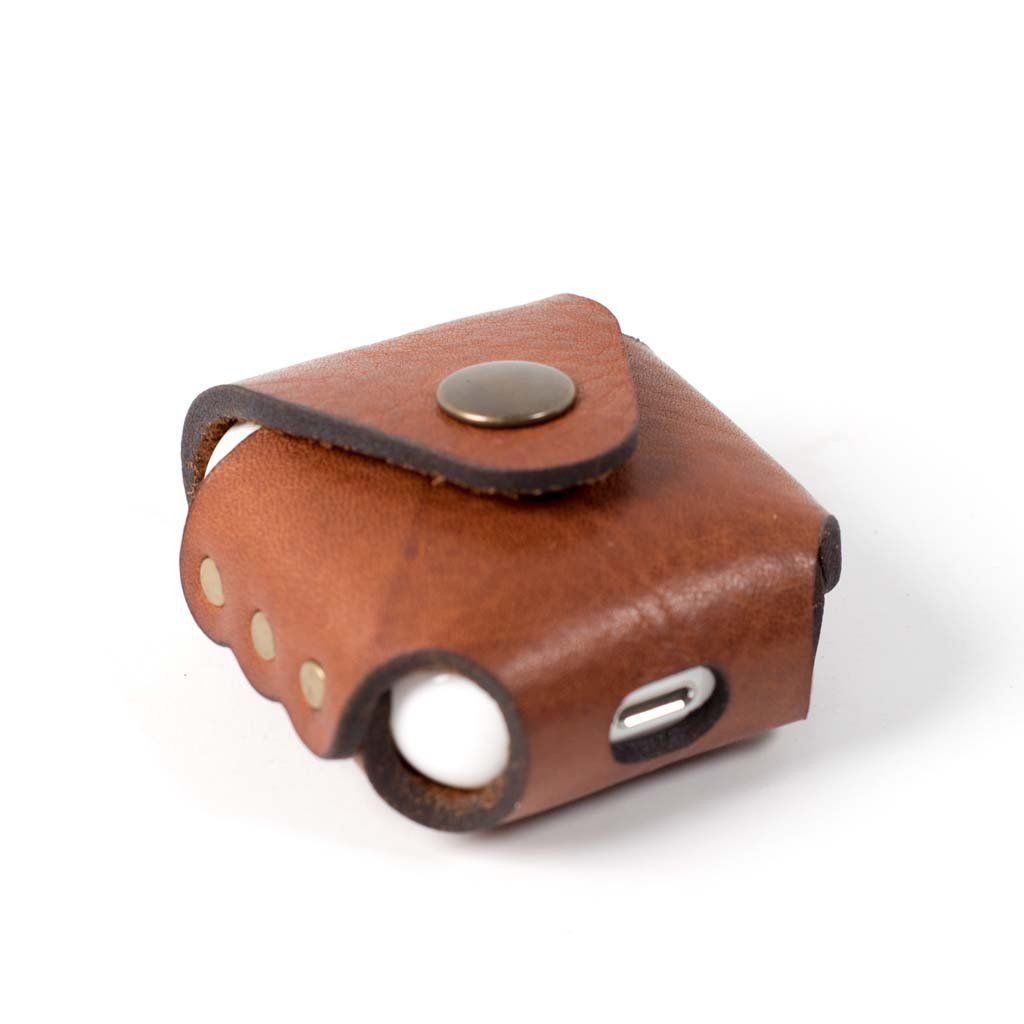 Airpods Or Airpods Pro Charger Case Leather Gifts Leather Handmade Leather Accessories