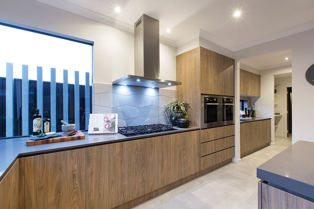 expansive kitchen and galley in the hoffman with amsterdam world of style