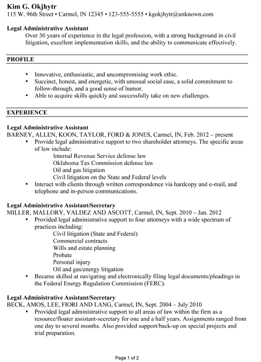 Legal Resume Writing Tips Resume Writing Tips Sample Resume Career Change Resume