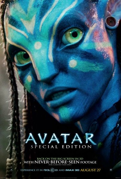 New Avatar Special Edition Re Release Poster Avatar Movie Avatar Poster Avatar Films