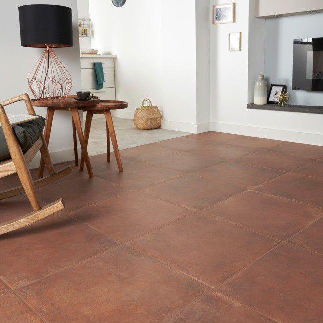 Terakota Fornace Colours 49 4 X 49 4 Cm Terracotta 1 22 M2 Terakota Ceramika Flooring Tile Floor Terracotta