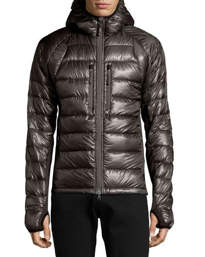 Canada Goose Hybridge Lite Quilted Down Jacket In Blue Modesens Down Jacket Jackets Hooded Jacket Blue