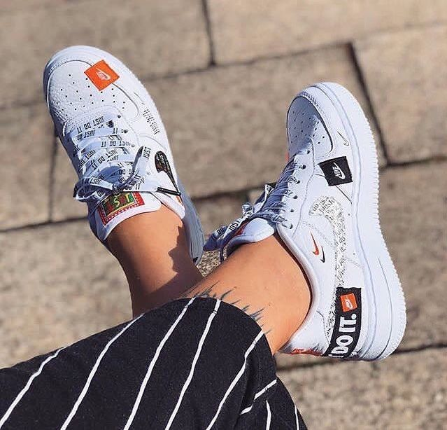 Nike x Air Force 1 Just do it - ???? @??? - #Air #Force #Nike   Nike ...